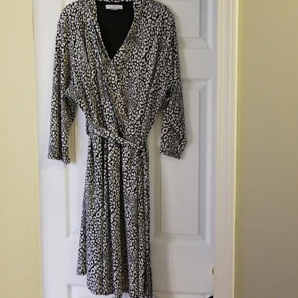 Liz Claiborne Dresses Plus Size Wrap Dress Poshmark